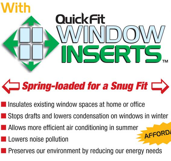 QuickFit Window Inserts