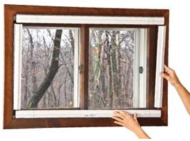 QUICKFIT provides Window Insulation for lower cost air conditioning.